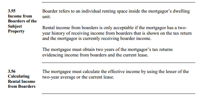hud policy renting room